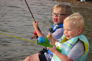 kidsfishingD-Day